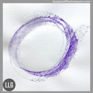 watercolor pencil enso by LLGriffin